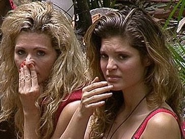 Nicola and Carly turn up their noses at David's smell.