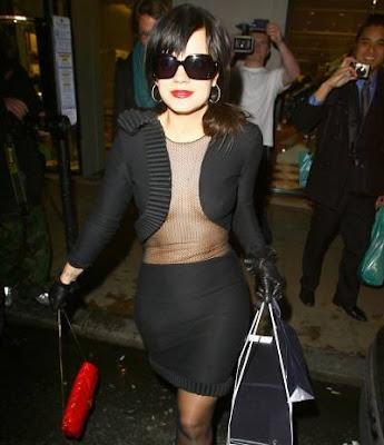 Lily Allen at Prada