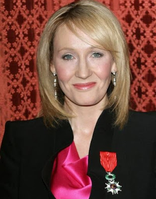 J.K. Rowling Knight of the Legion of Honour