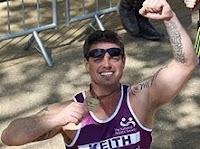 Keith Duffy marathon