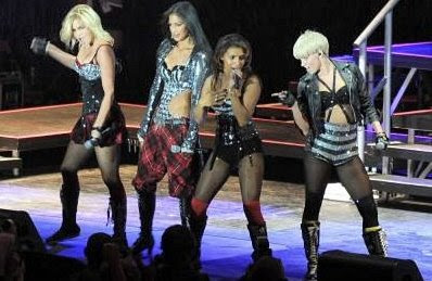 Pussycat Dolls: Ashley Roberts, Melody Thornton, Nicole Scherzinger and Kimberly Wyatt