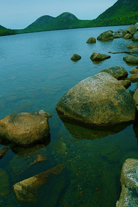 Desert Island rocks