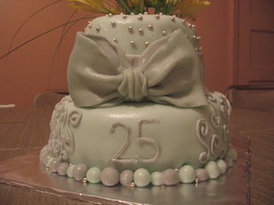 Cake Design For 25th Anniversary : Special Cake For All Moment: 25th anniversary cake 2011 idea