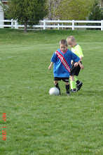 Isaac playing Soccer
