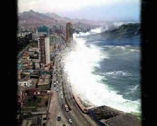 Arte de la fotografía. Tsunami-2