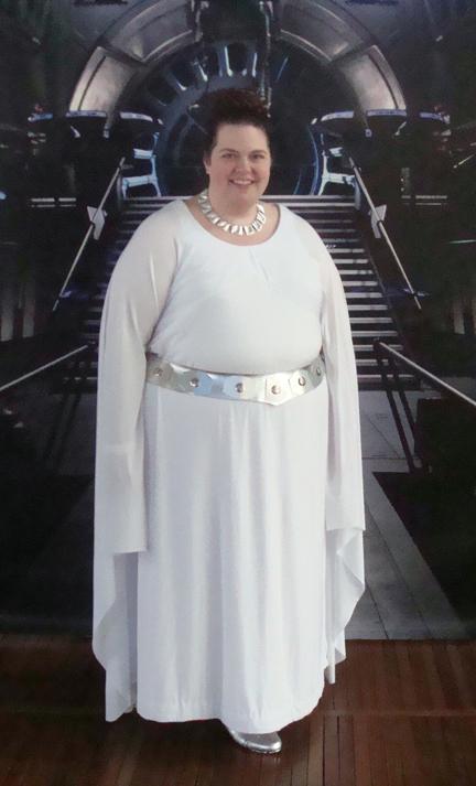 The Lavender Studio: Ceremonial Leia Dress