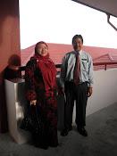 Guru Besar SKIP ( En Shahari B. Embon) dan PK Pentadbiran ( Pn Hjh Khairiah Bt Lahamad)