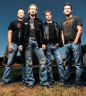 Promotional Photo of Nickelback Group Members