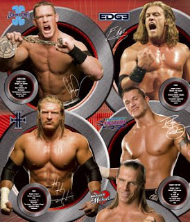 WWE Promotional Poaster