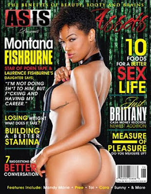 Who Gave Montana Fishburne A Magazine Cover???