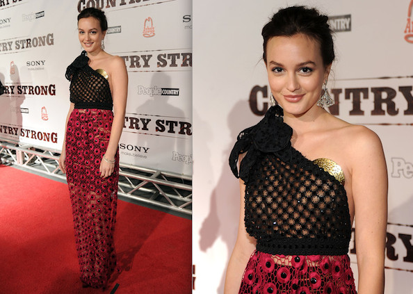 Do We Like Leighton Meester In Marc Jacobs?