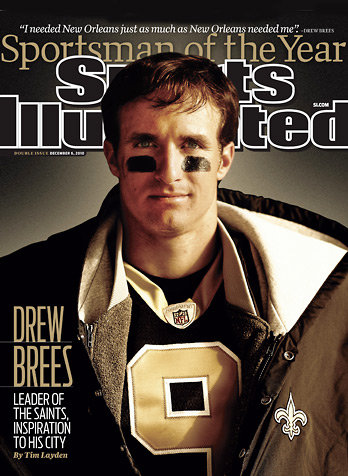 Drew Brees Named Sportsman Of The Year + Reggie Bush!!!