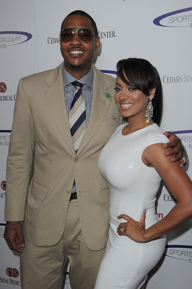 "Carmelo Anthony On Trade Speculation: ""Leave My Wife Out Of It"""