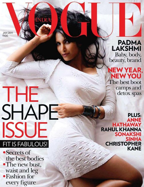 """Top Chef's"" Padma Lakshmi Continues To Have Baby Daddy Drama + Covers VOGUE India!"