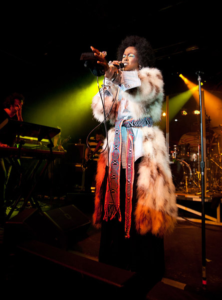 Lauryn Hill Hits The Stage At Sundance In A FULL LENGTH Fur!