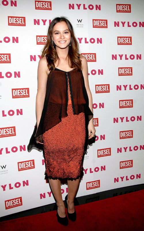 Leighton Meester Celebrates Her NYLON Magazine Cover!