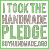 Buy Handmade Pledge - Your Purchase helps support American Artists