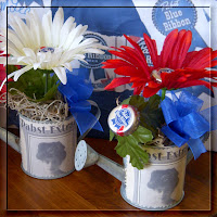 PBR Gerber Daisies, click this image to visit my Etsy shop and Request Handmade PBR Crafts