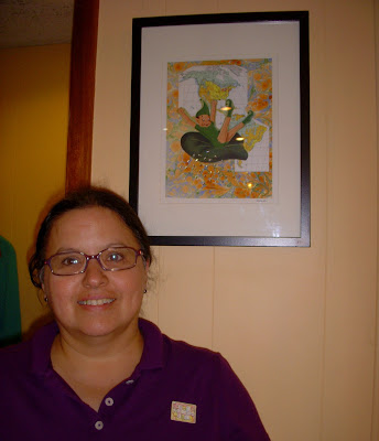 Find Leslie's artwork at the Court Diner!