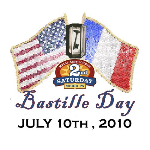 Bastille Day Celebration, 2nd Saturday in Media, PA