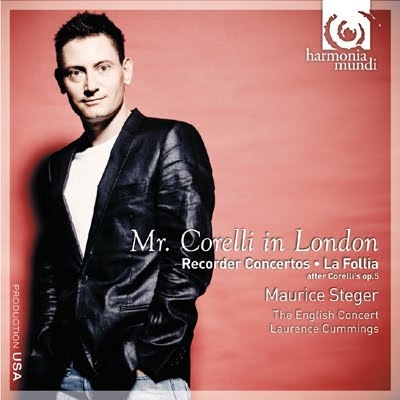 Mr. Corelli in London por Steger y The English Concert