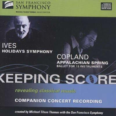 Ives y Copland por la Sinfónica de San Francisco y Tilson Thomas