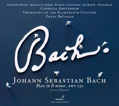 La Misa en simenor de Bach por Brüggen en Glossa