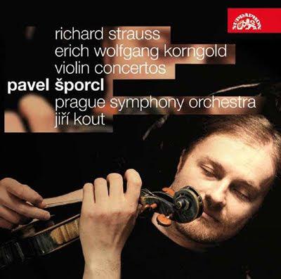 Conciertos de Strauss y Korngold por Pavel Šporcl en Supraphon
