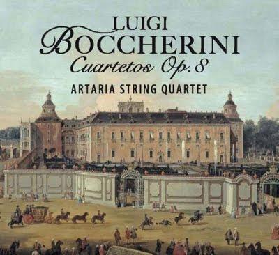 Los cuartetos Op.8 de Boccherini por el Cuarteto Artaria en Columna Música