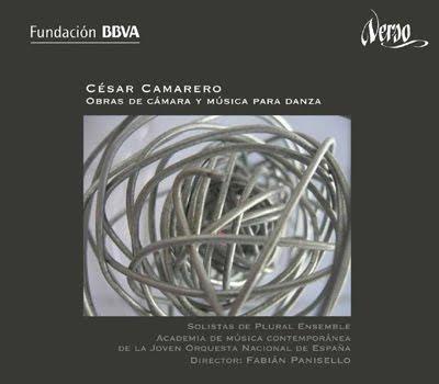 Obras de cámara y para danza de César Camarero