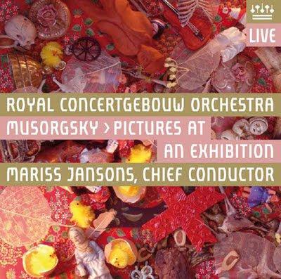 Los cuadros de una exposición de Mussorgsky/Ravel por Jansons en el sello de la Orquesta del Concertgebouw