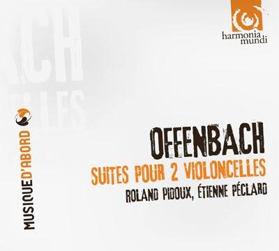 Suites para dos cellos de Offenbach por Pidoux y Péclard