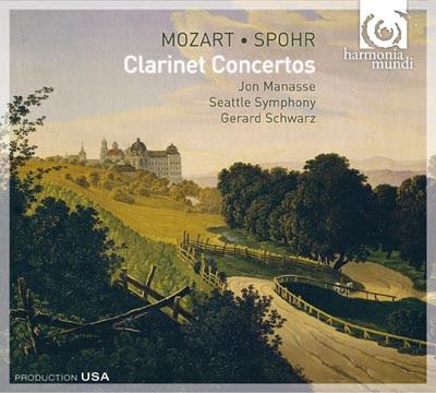 Concierto e clarinete de Mozart por Jon Masse, la Sinfónica de Seattle y Gerard Schwa
