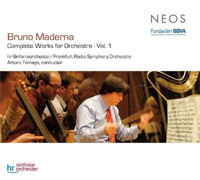 Obra orquestal de Maderna por Arturo Tamayo en el sello Neos (vol.1)