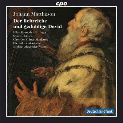 Un oratorio de Johann Mattheson en Cpo