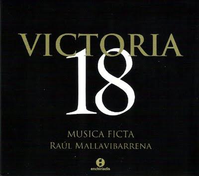 Responsorios de Tinieblas de Victoria por Musica Ficta