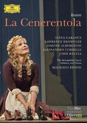 La Cenerentola de Rossini en la producción de Cesare Lievi para el MET en DG