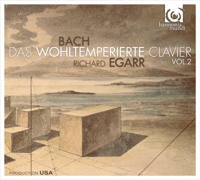 Segundo Libro de El clave bien temperado de Bach por Richard Egarr