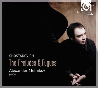 Preludios y fugas de Shostakovich por Alexander Melnikov