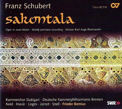 Sakontala de Schubert/Rasmussen por Bernius