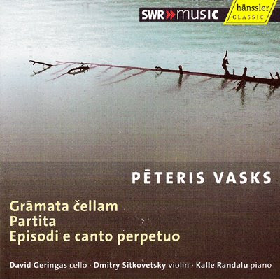 Obras para cello de Peteris Vasks por David Geringas