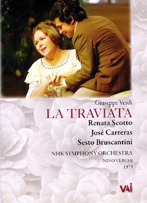 La Traviata con Scotto, Carreras y Bruscantini en Tokyo en 1973 (sello VAI)