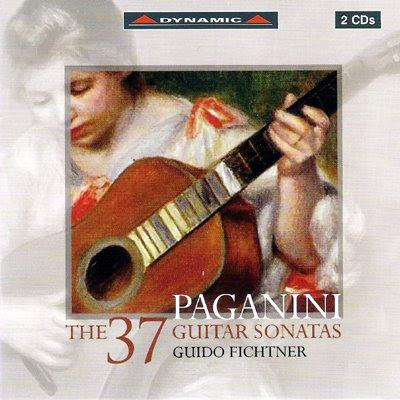 Sonatas de guitarra de Paganini por Guido Fichtner