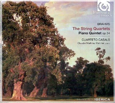 Cuartetos de Brahms por el Cuarteto Casals