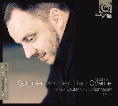 Segundo volumen de la Goerne Schubert Edition