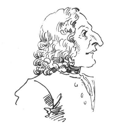 Caricatura de Vivaldi por Pier Leone Ghezzi