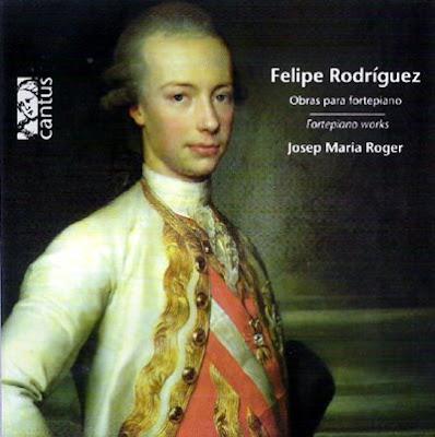 Obras de Felipe Rodrñiguez por Josep Maria Roger en Cantus