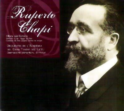 Obra sinfónica de Chapí en Columna Música