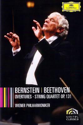 Oberturas y Cuarteto Op.131 de Beethoven por Bernstein