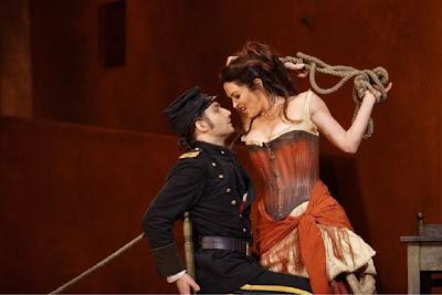 Antonacci y Kaufmann en la Carmen de Zambello
